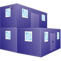 Büro- Wohncontainer mieten leihen