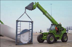 Aufsteckhaken für Teleskopstapler mieten leihen