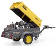 Schraubenkompressor Leistung 2,6 m³/min. mieten leihen